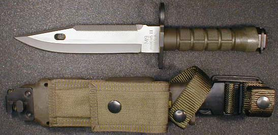 Commercial Buck - Phrobis III marked M9 Bayonet